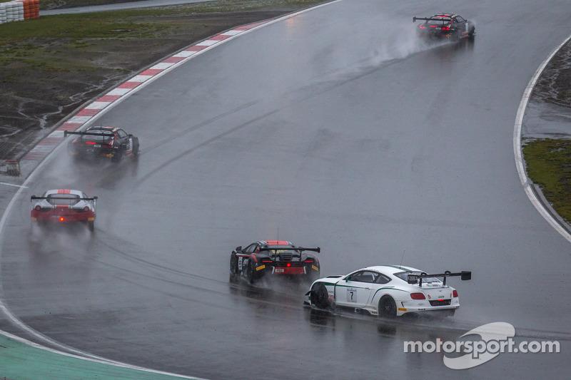 #7 M-Sport 宾利 宾利 Continental GT3: 盖·史密斯, 安迪·梅里克, 斯蒂文·凯恩