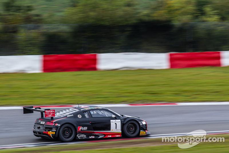 #1 Belgian Audi Club Team WRT Audi R8 LMS Ultra: Cesar Ramos, Laurens Vanthoor, Christopher Mies