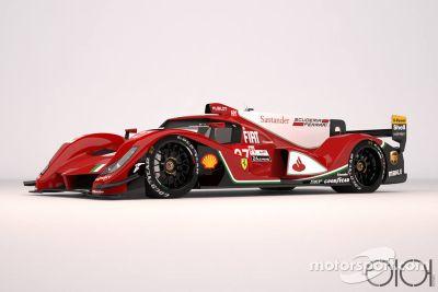 LMP1-Konzeptstudie von Ferrari