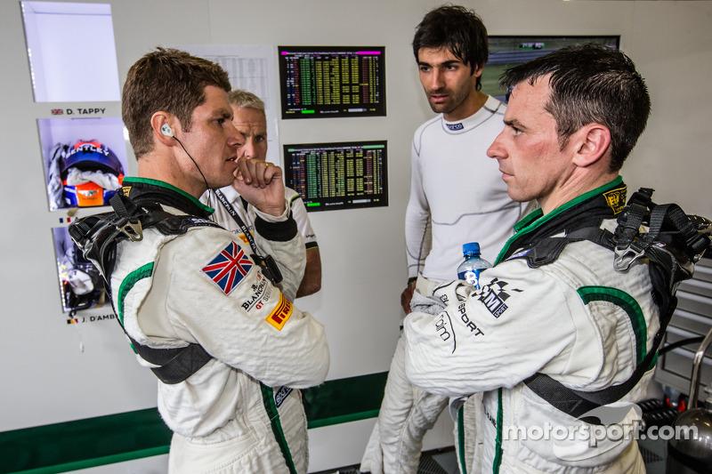 Guy Smith, Antoine Leclerc e Steven Kane