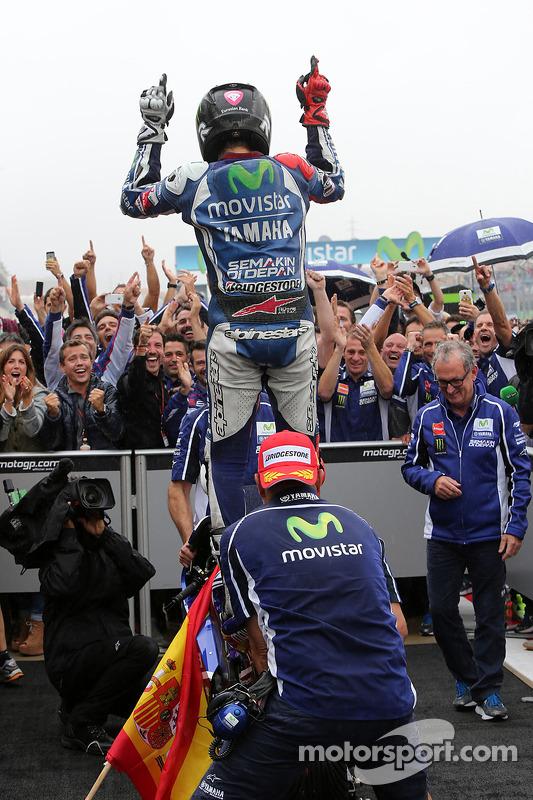 Vencedor da corrida Jorge Lorenzo, Yamaha Factory Racing