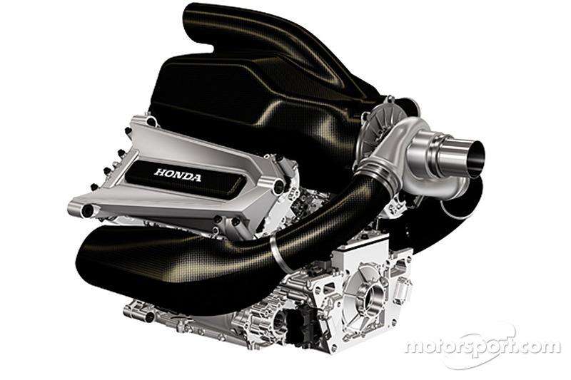 Honda Formula 1 power unit per la stagione 2015