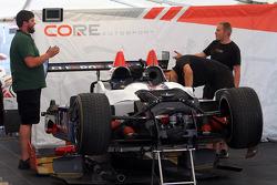 CORE autosport garaj alanı