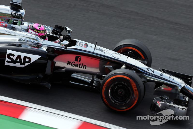 Jenson Button, McLaren MP4-29