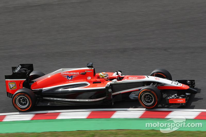 Samstag: Im Qualifying fährt Bianchi auf Startplatz 20