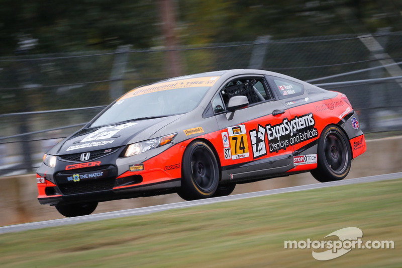 Compass360 Racing Honda Civic: James Vance, Jon Miller