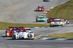 #88 BAR1 Motorsports ORECA FLM09 Chevrolet: Tom Papadopoulos, Johnny Mowlem, David Cheng