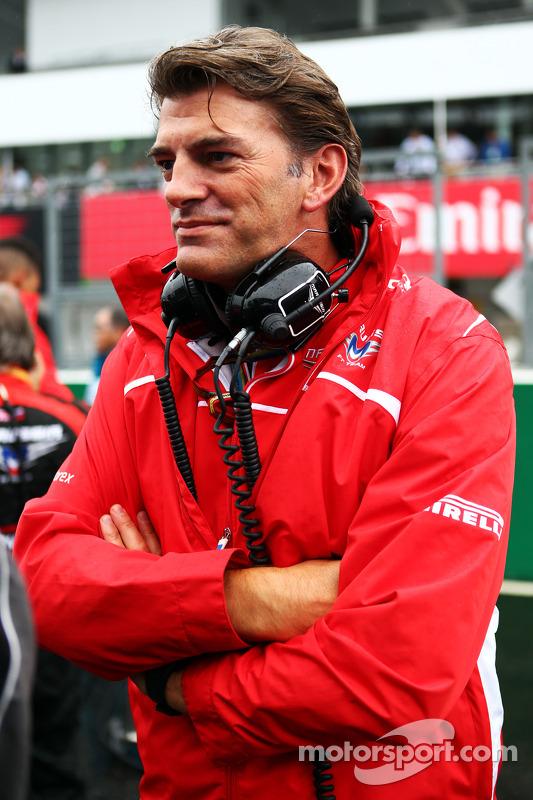 Graeme Lowdon, Marussia F1 Takımı Baş Yöneticisi gridde