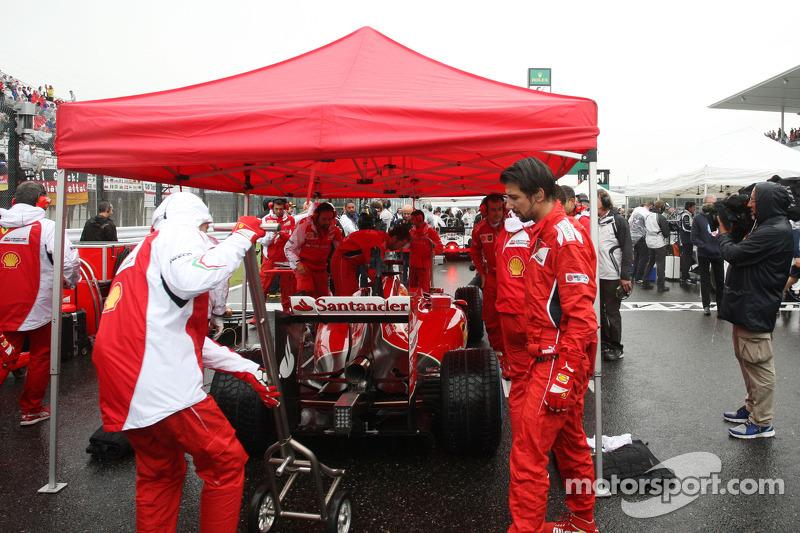 Fernando Alonso, Ferrari F14-T gridde