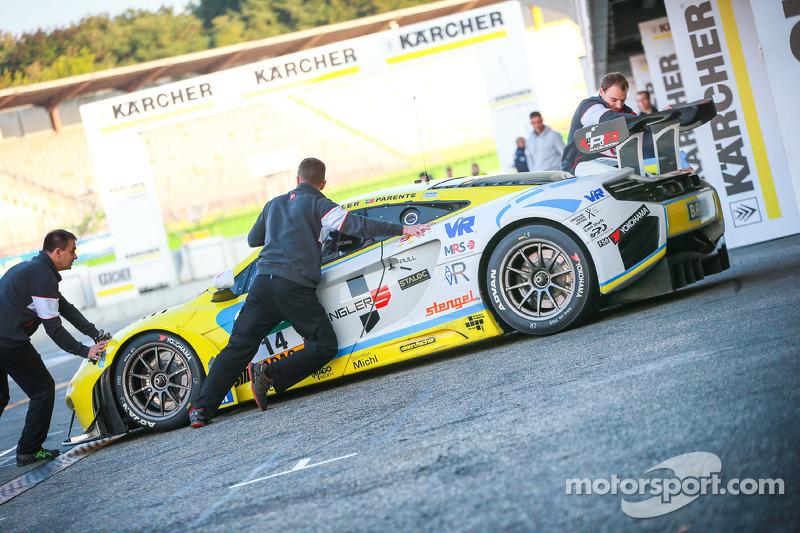 #14 MRS-GT-Racing 迈凯伦 MP4-12C GT3: 弗洛里安·斯潘格勒, 阿尔瓦罗·帕伦特
