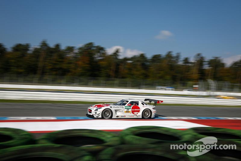 #27 H.T.P. Motorsport Mercedes-Benz SLS AMG GT3: Maximilian Götz, Luca Stolz