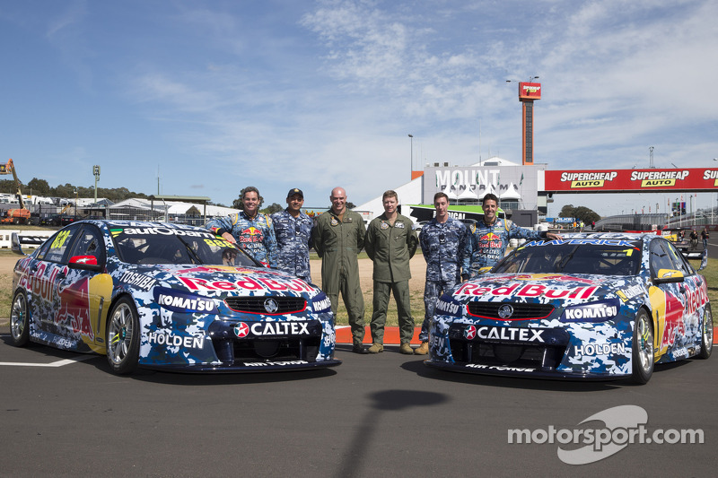 Craig Lowndes, Steven Richards, Paul Dumbrell, Jamie Whincup