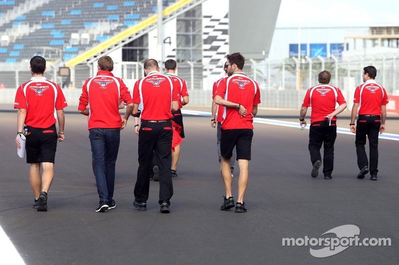Trackwalk: Marussia F1 Team