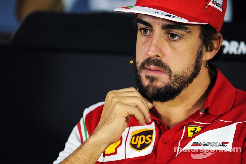 Fernando Alonso, Ferrari FIA Basın Konferansı'nda