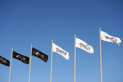 F1 and Sochi Autodrom flags