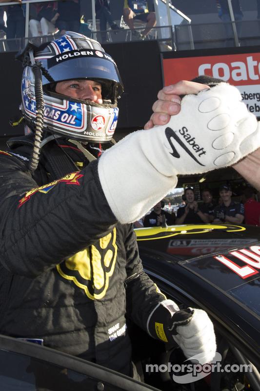 Ganador de la pole Shane van Gisbergen, Equipo Tekno VIP Holden