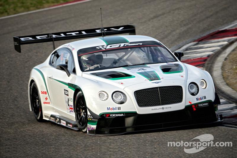 #4 Absolute Bentley Continental GT3: Jean-Karl Vernay, Gilles Vannelet