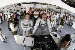 Área de equipo Porsche