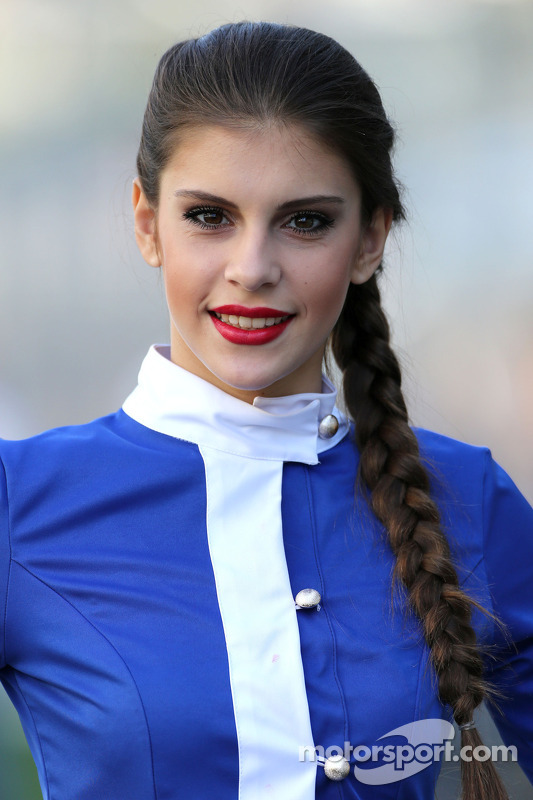 A lovely Sochi Grid Girl