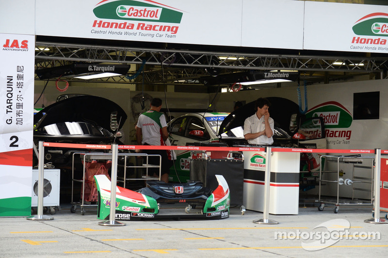 Área del equipo Honda