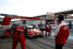 Boxenstopp, Miguel Molina, Audi Sport Team Abt, Audi RS 5 DTM