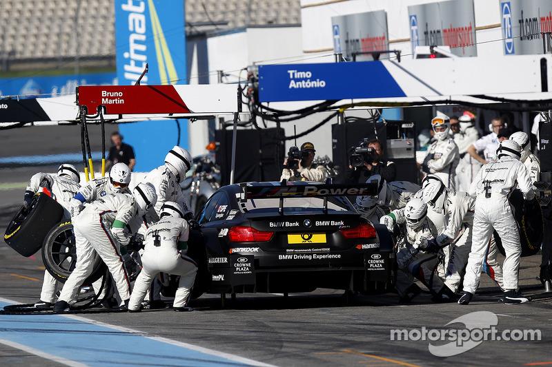 Parada en pits, Bruno Spengler, BMW Team Schnitzer BMW M4 DTM