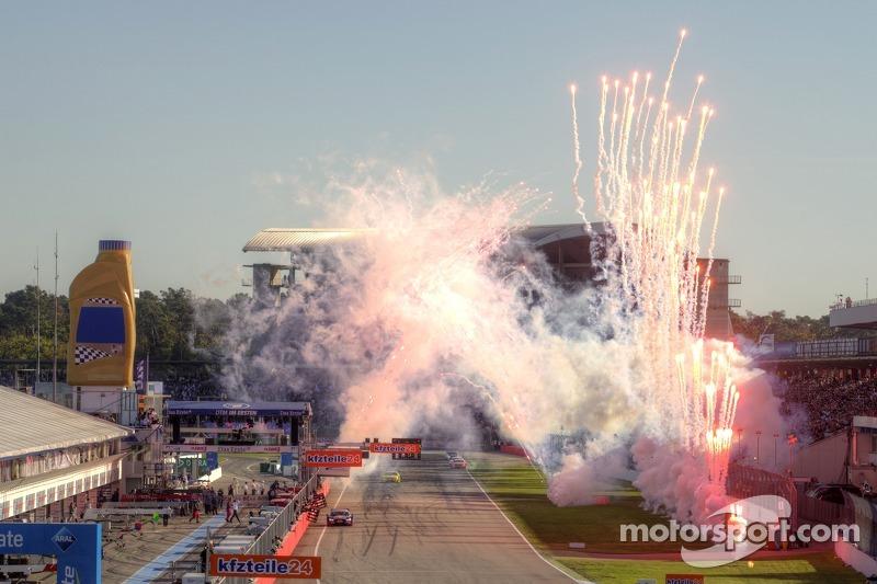 Mattias Ekström, Audi Sport Team Abt Sportsline, Audi RS 5 DTM takes the win
