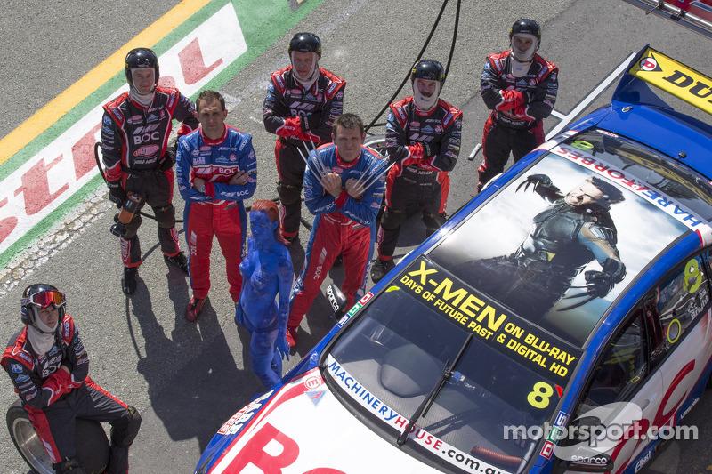 Jason Bright, BOC Racing con lo sponsor X-Men
