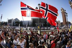 Norveçli taraftarlar