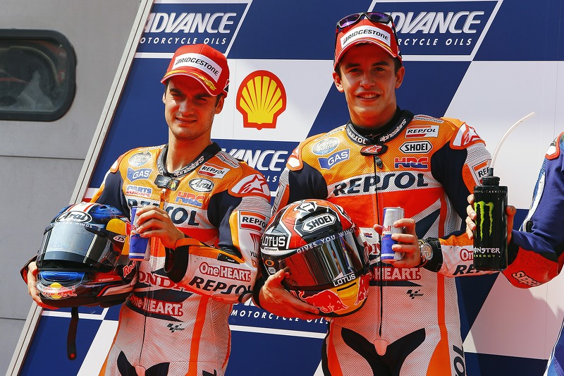 Dani Pedrosa, Repsol Honda Team and Marc Marquez, Repsol Honda Team