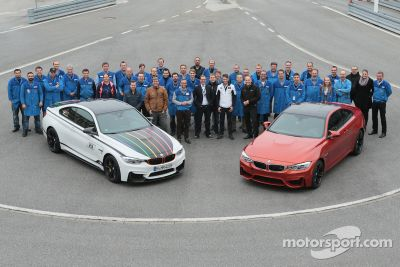 Champion Marco Wittmann visits BMW factory