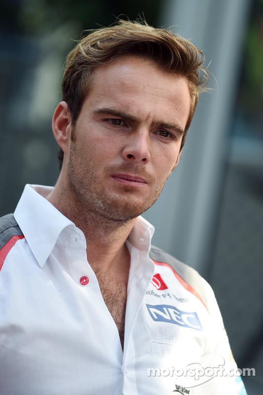 Giedo van der Garde, Sauber F1