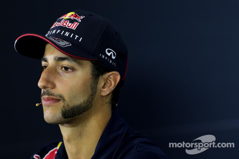 Daniel Ricciardo, Red Bull Racing at the FIA Press Conference