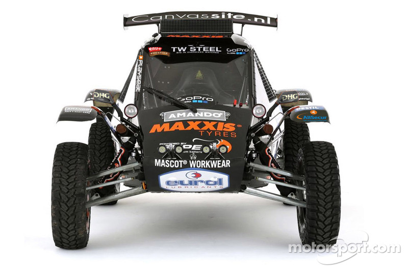 The Maxxis Dakar Team buggy