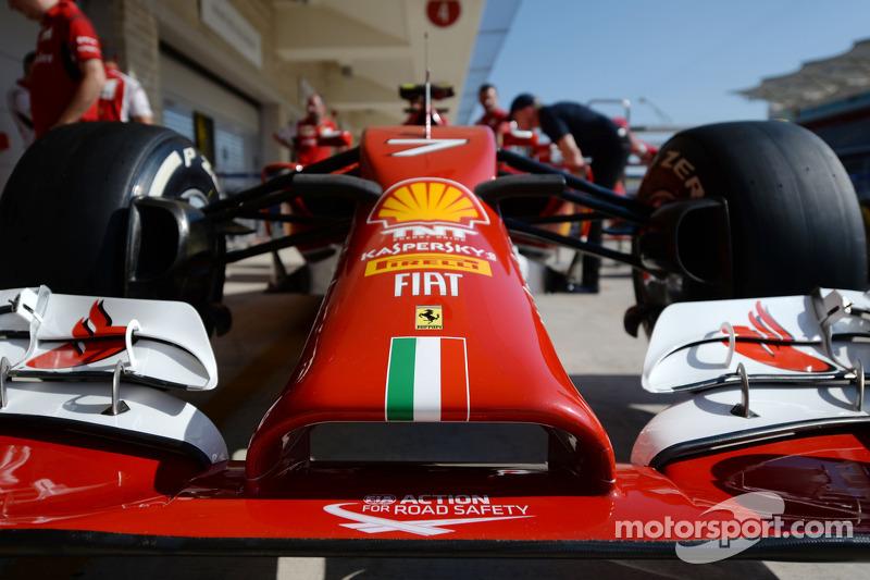Ferrari F14-T burun kısmı