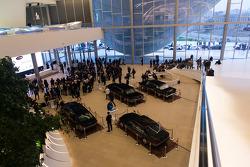 Conferência de imprensa at Crystal Hall in Baku