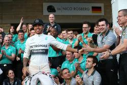 Primeiro lugar: Lewis Hamilton, Mercedes AMG F1 W05