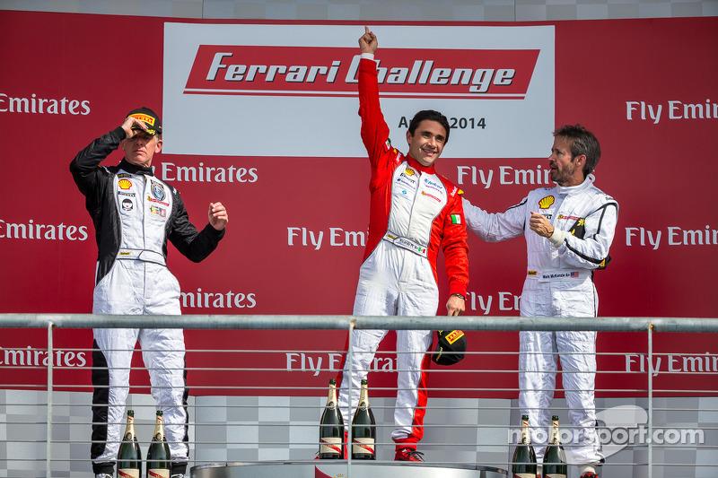 TP podio: vincitore della gara Ricardo Perez, secondo posto Scott Tucker, il terzo posto Mark McKenz