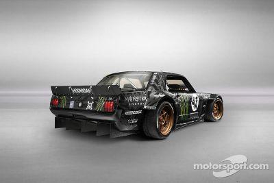 Ken Block Gymkhana Ford Mustang