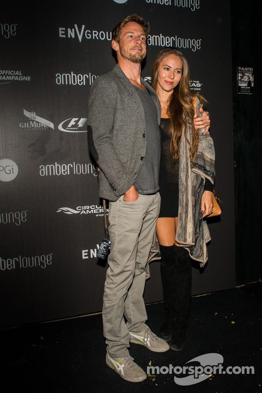 Jenson Button e Jessica Michibata