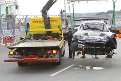 #76 BMW Sports Trophy Team Schubert BMW Z4: Jens Klingmann, Dominik Baumann : En difficulté