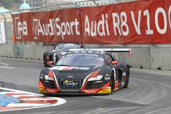 #9 Belgian Audi Club Team WRT Audi R8 LMS Ultra: Stephane Richelmi, Stéphane Ortelli