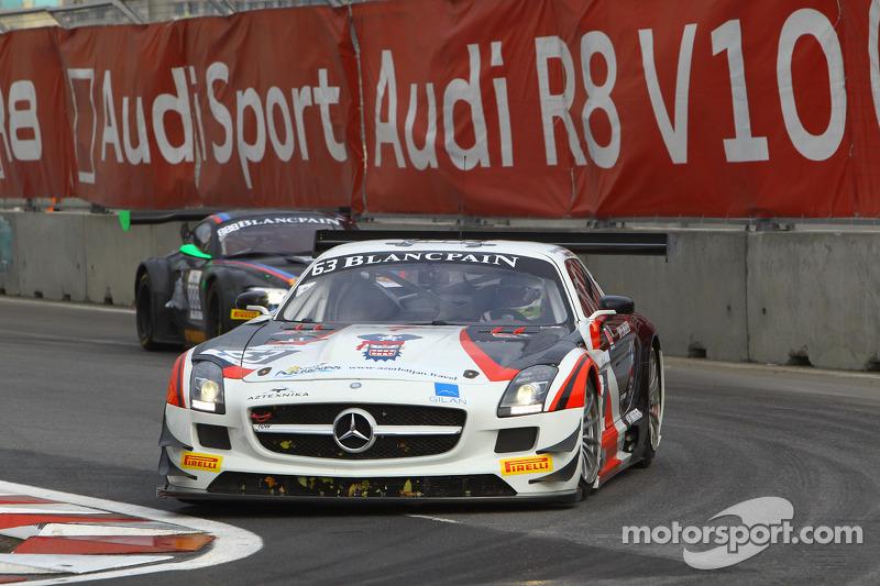 #63 Fortec Motorsports 梅赛德斯 SLS AMG GT3: 米盖尔·托里尔, 本杰明·赫瑟林顿