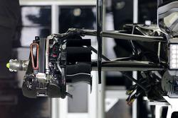 Technisched Detail des Mercedes-Hecks