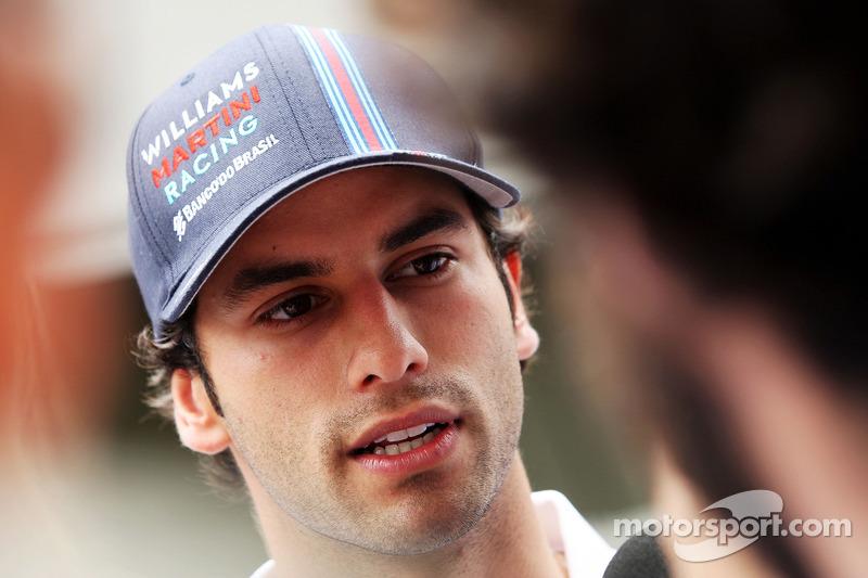 Felipe Nasr, Williams Test and Reserve Driver