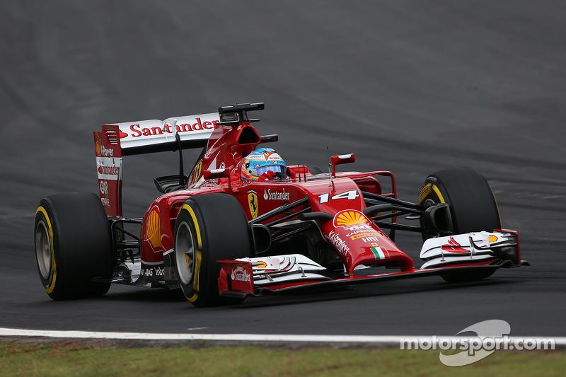 Fernando Alonso, Ferrari F14-T