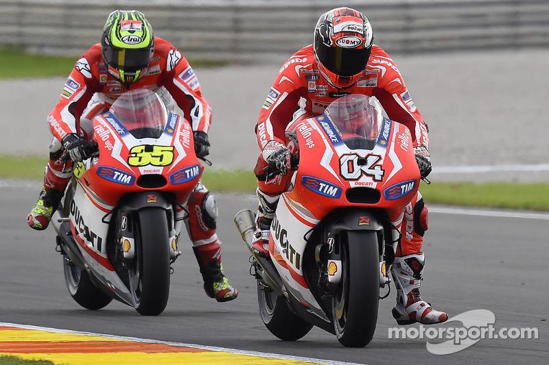 Ducati Desmosedici 2014 - Andrea Dovizioso ve Cal Crutchlow