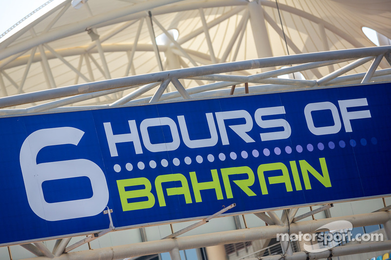 6 Hours of Bahrain sign