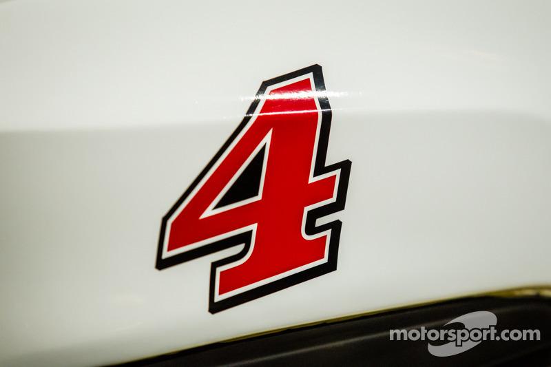 Şampiyona yarışmacıları Basın konferansı: Kevin Harvick'in aracı, Stewart-Haas Racing Chevrolet