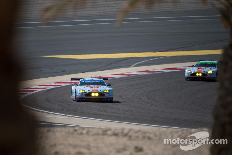 #99 Aston Martin Racing Aston Martin Vantage V8: Alex MacDowall, Abdulaziz Al Faisal, Fernando Rees